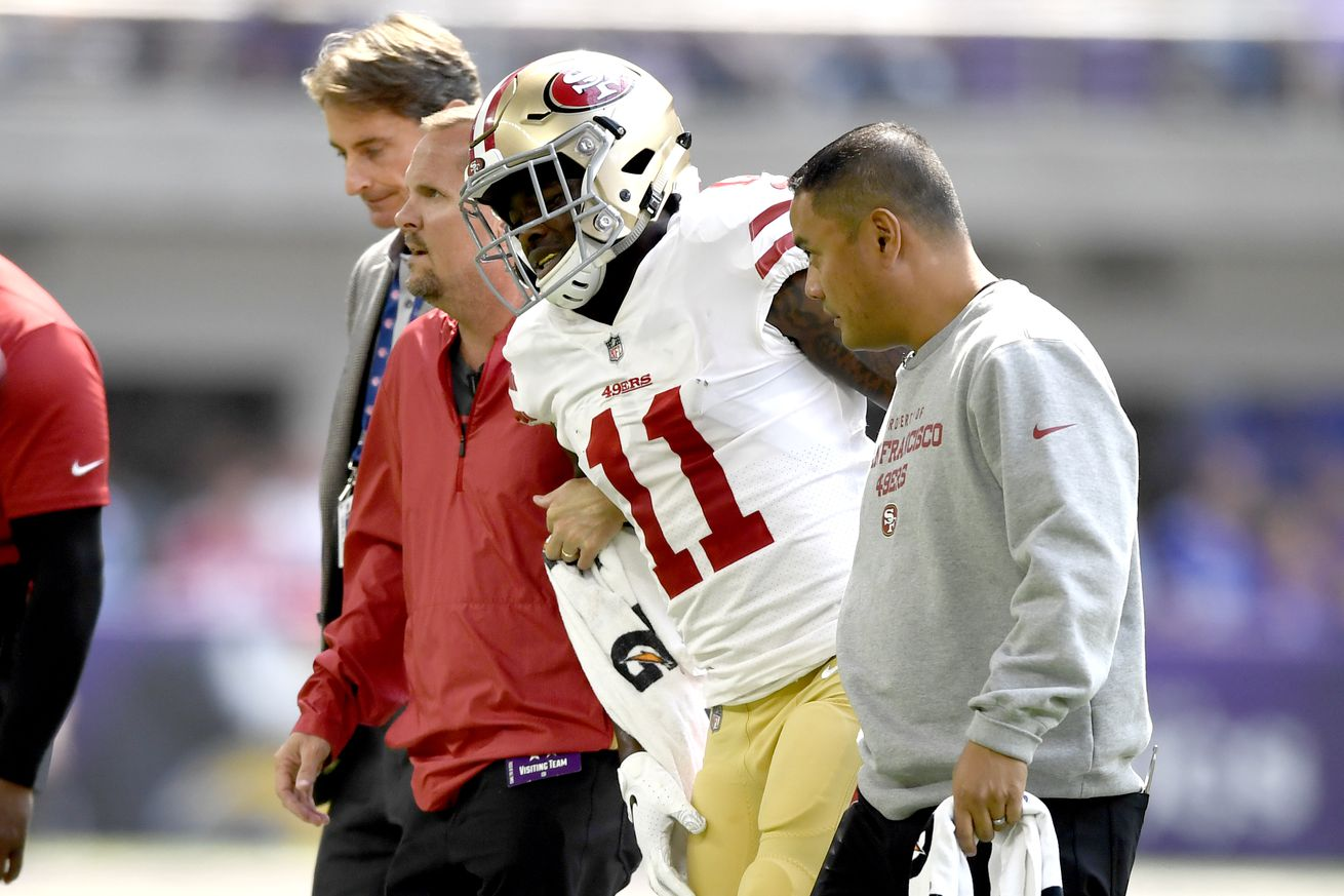 b4307d2c Kyle Shanahan details 49ers players who won't practice on Wednesday ...